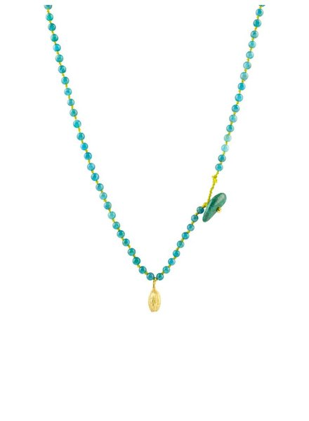 Renee Garvey Gem Apatite Necklace