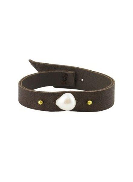 Renee Garvey 18k Kasumi Pearl Bracelet