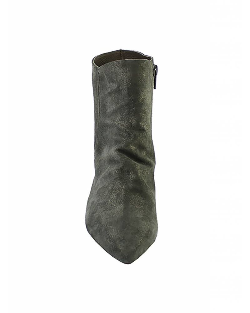 Coclico Joy Metallic Suede Boots Anthracite