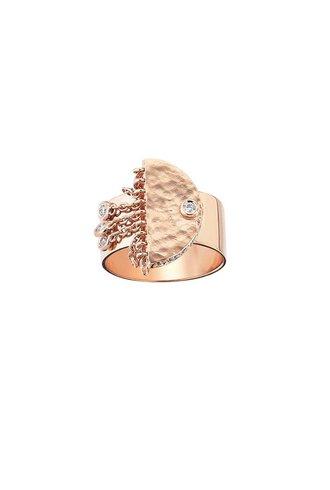 KISMET Le Soleil Tassels Pinky Ring