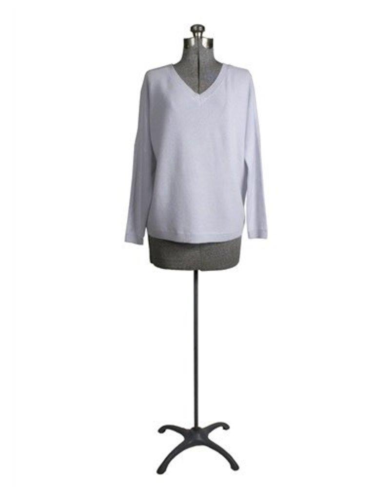 360 Sweater Jaz V-Neck Pullover Oyster