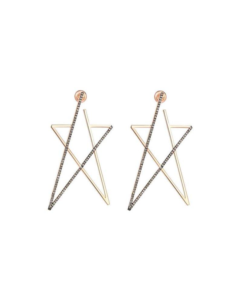 KISMET Struck Doodle Star Maxi Earring