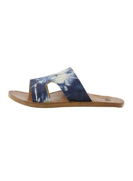Beek Blackbird Tie Dye Sandals Indigo