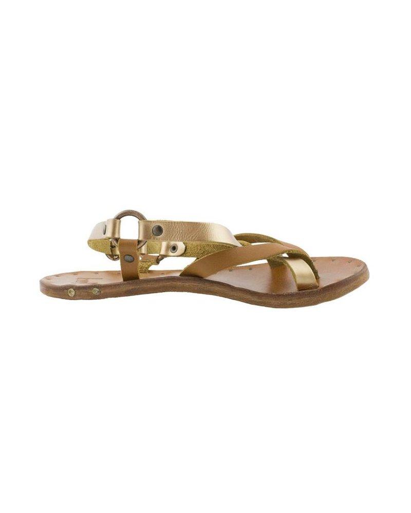 Beek Sparrow Sandals Rose Gold