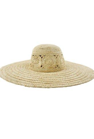 Brooklyn Hat Co. Zuma Hat Fancy Weave Raffia Hat
