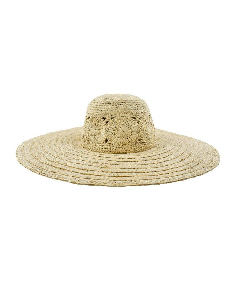 Brooklyn Hat Co. Zuma Hat Fancy Weave Raffia Hat