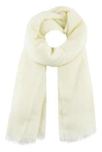 Destin Fluffy Mega Scarf White