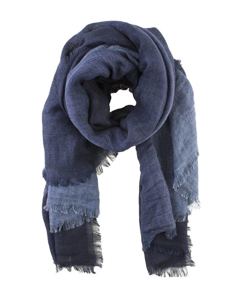 Destin Print Jeans Quadra Scarf