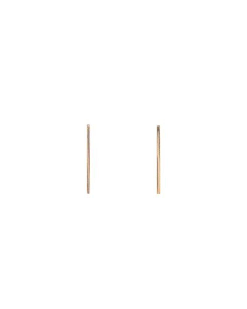 KISMET Long Gold Stick Earrings