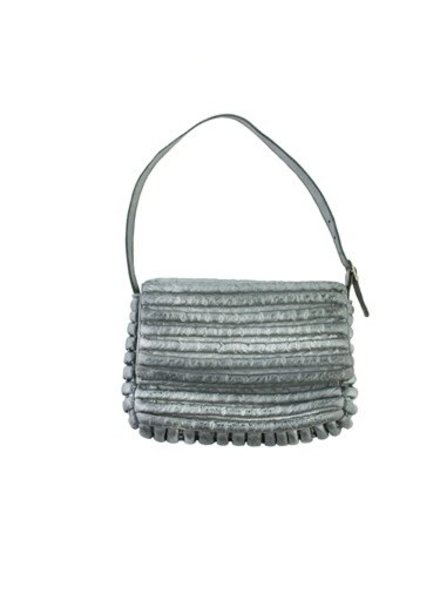 Majo Textured Leather Shoulder Bag
