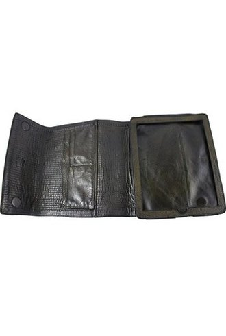 Majo Leather iPad Case Black