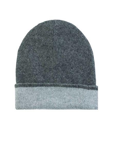 New Scotland Bicolor Hat Charcoal & Light Grey