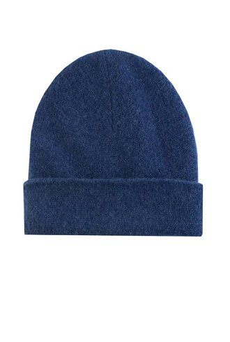 New Scotland Solid Beanie Navy