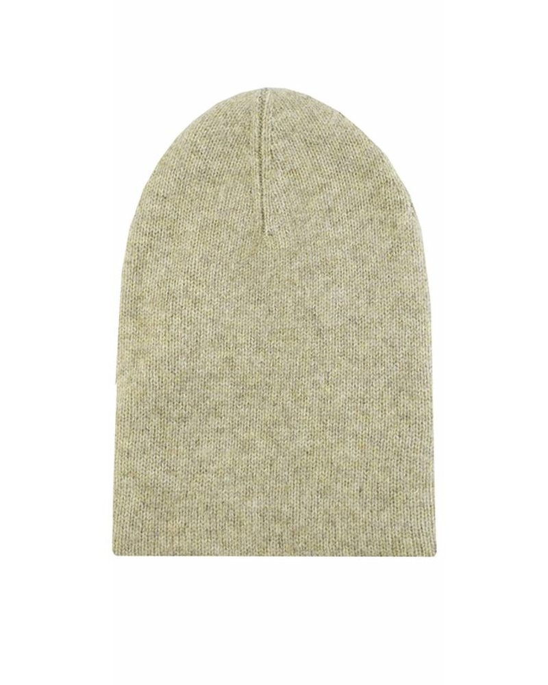 New Scotland Solid Beanie Taupe