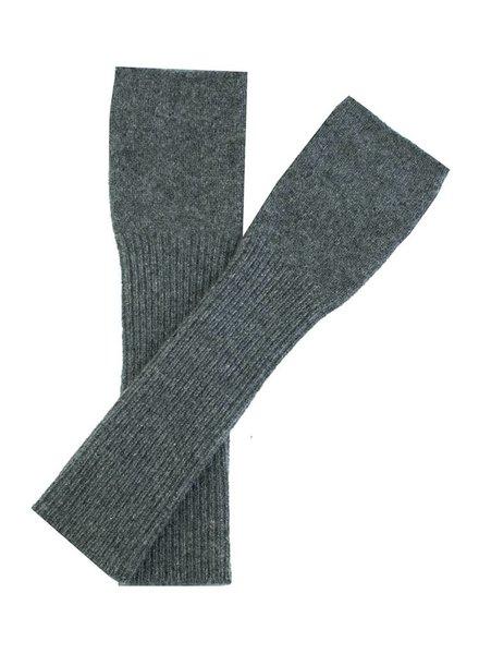New Scotland Long Handwarmers Dark Grey