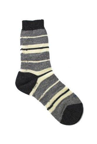 Pantherella Della Socks Flannel Grey