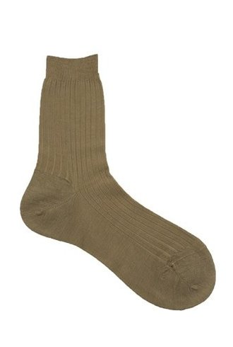Pantherella Rose Wool Socks Dark Camel
