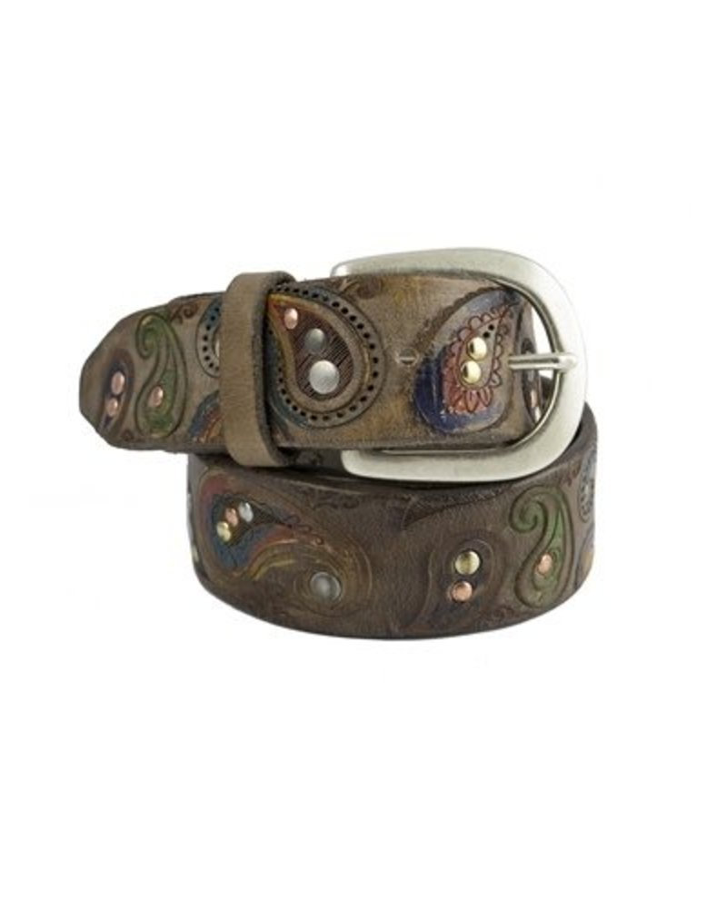 Orciani Henne Belt Taupe