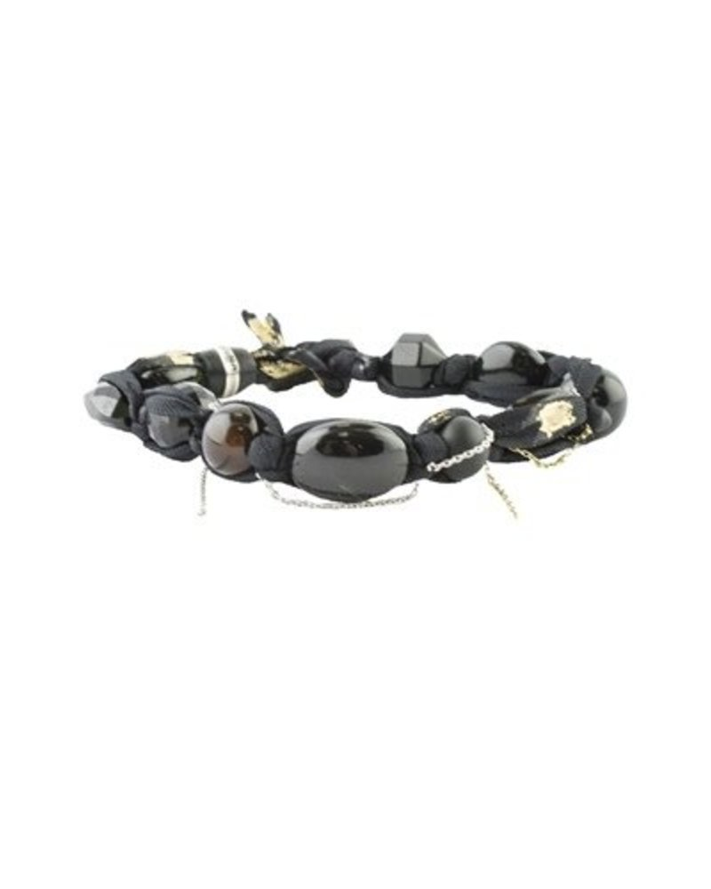 Beth Orduna Design Beaded Black Onyx Mix Bracelet