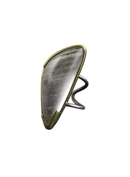 Beth Orduna Design Phantom Crystal Quartz Ring