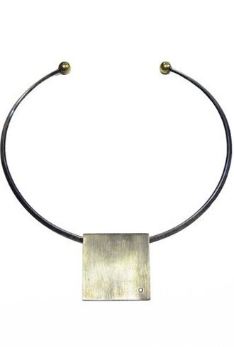 Beth Orduna Design Sterling Choker with Diamond