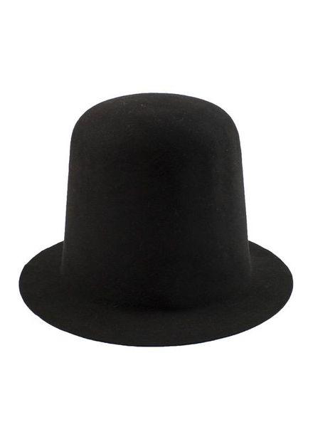 Wolfram Kopka No Hats Crushable Castor Hat Black