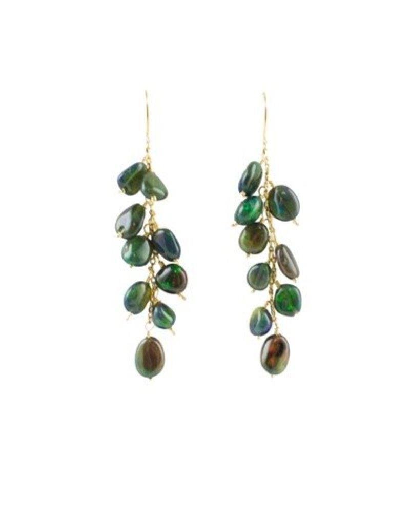Dana Kellin Fine Opal Pebble Earrings