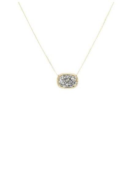 Dana Kellin Fashion Slate Mix Necklace