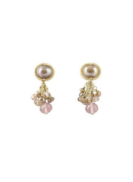 Dana Kellin Fashion Blush Mix Earrings