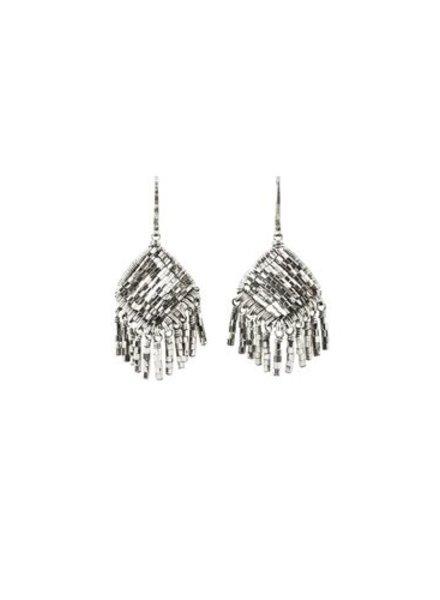 Dana Kellin Fashion Silver Bead Earrings