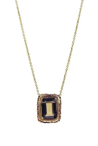 Dana Kellin Fashion Smoky Quartz Necklace