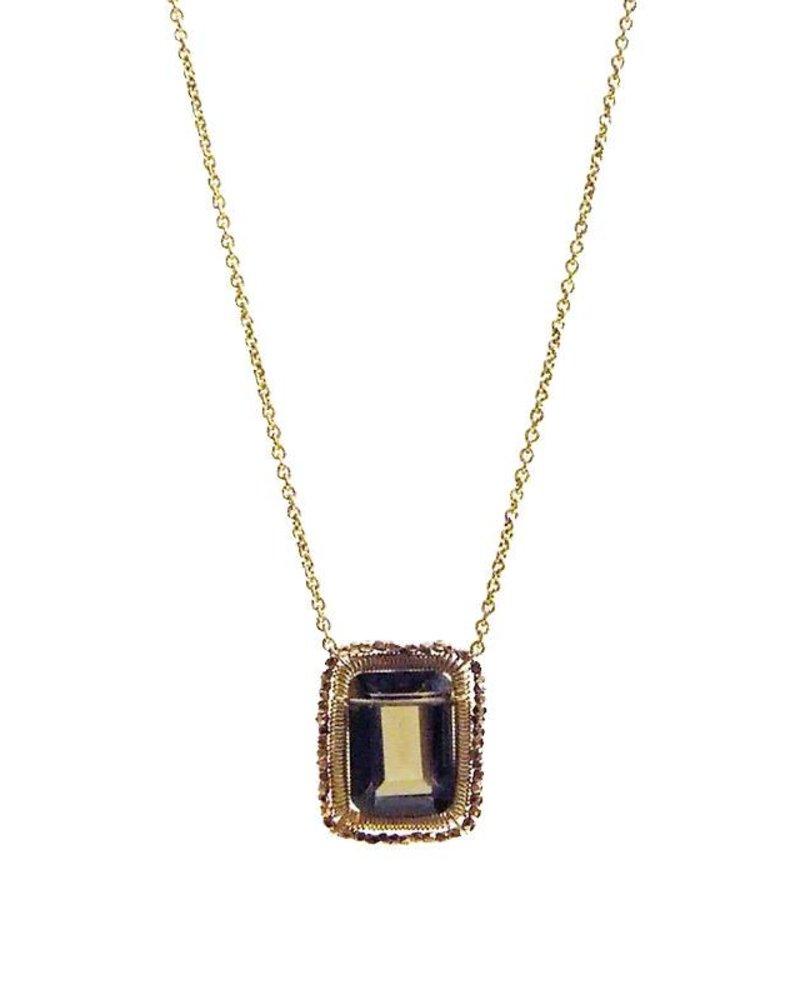 Dana Kellin Fashion Smoky Quartz Necklace