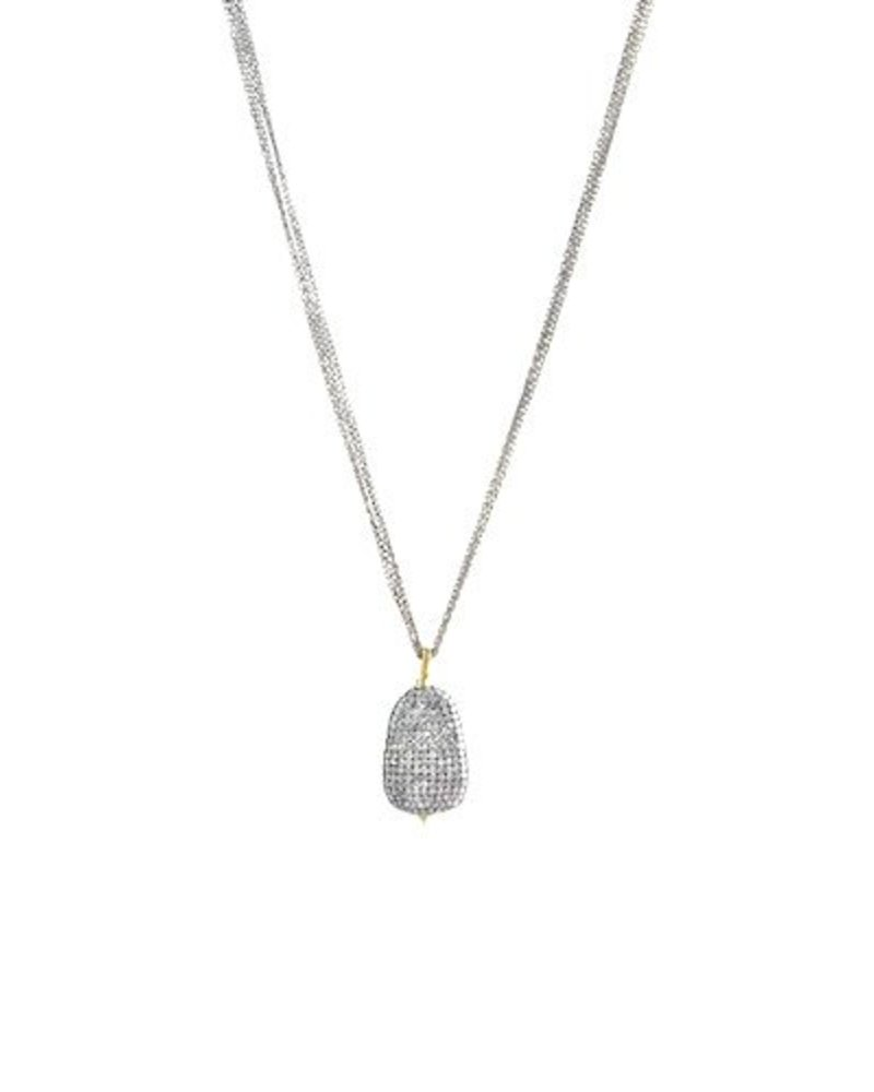 Dana kellin 14k pave diamond pendant necklace womens clothing dana kellin fine 14k pave diamond pendant necklace aloadofball