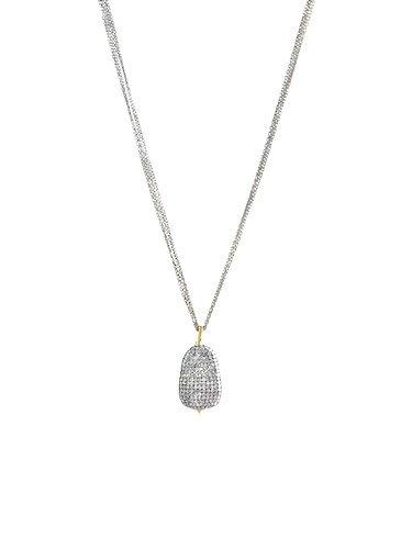 Dana kellin 14k pave diamond pendant necklace womens clothing dana kellin fine 14k pave diamond pendant necklace aloadofball Images