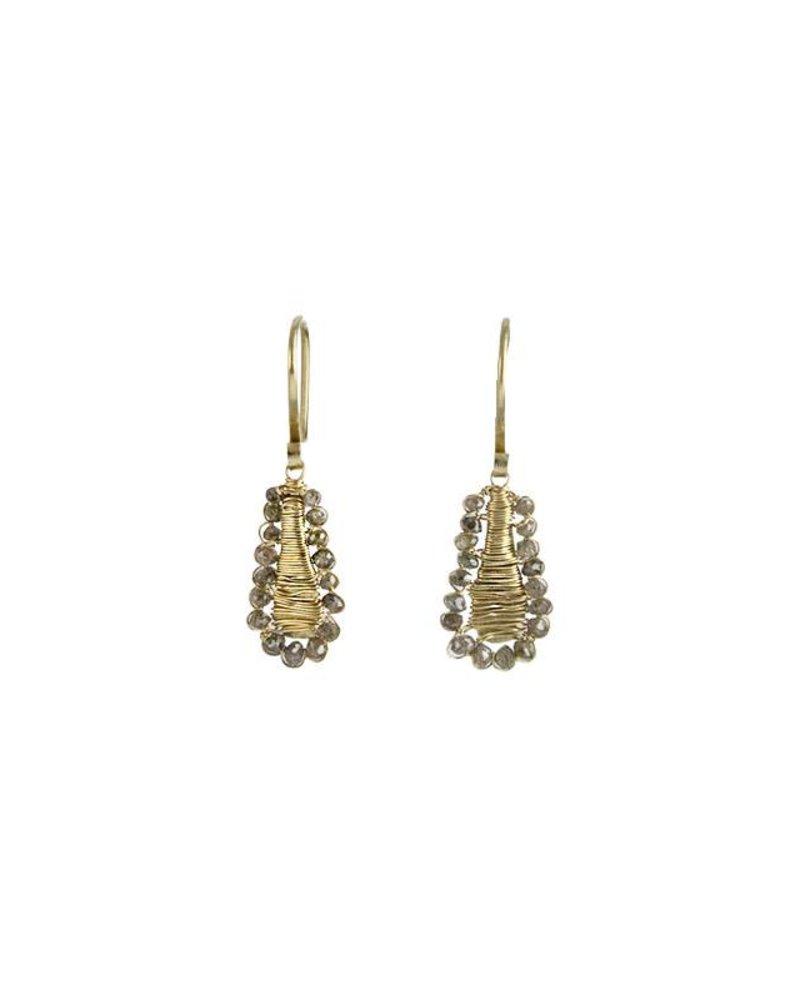 Dana Kellin Fine 14k Brown Diamond Earrings