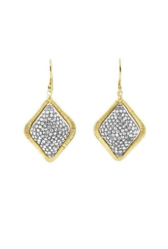 Dana Kellin Fine 14k Pave Diamond Kite Earrings