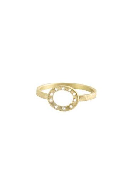 Rebecca Lankford Open Oval Diamond Ring