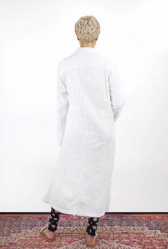 Raquel Allegra Robe Trench Dirty White