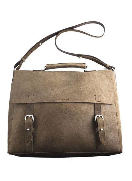 Orciani New Park Briefcase Satchel Unique