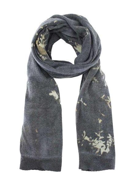 MA+CH Cashmere Knit Shawl Coal