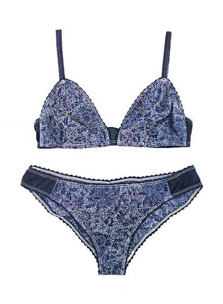 Xirena Ines Set Blue Bandana