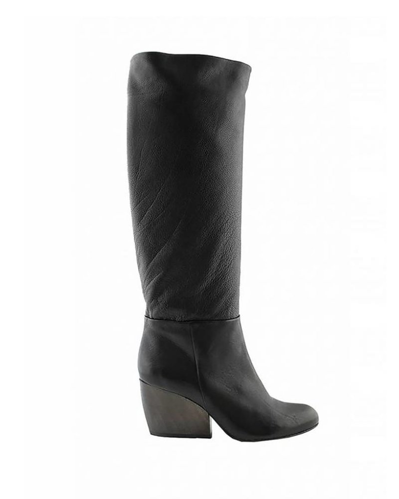 Coclico Bly Pull-on Boot Black Leather