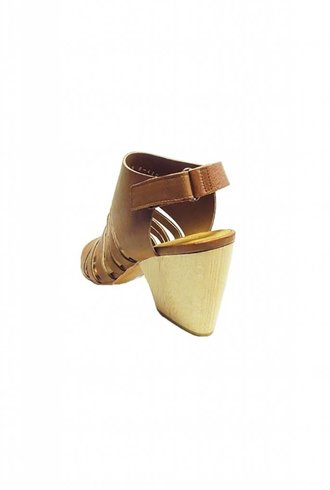 Coclico Votan Strappy Leather Heel