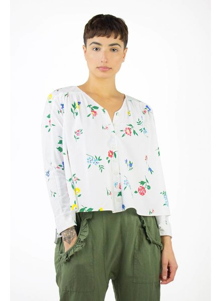 The Great The Boutonniere Top Western Wallflower Print