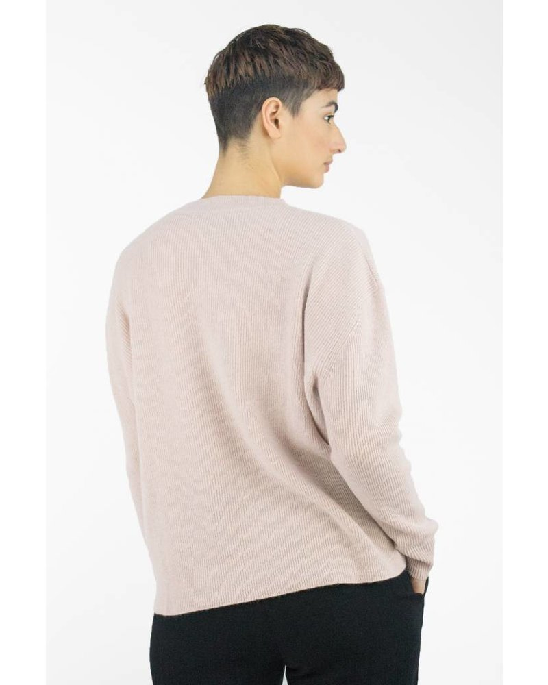 360 Sweater Cynthia Pullover Rose Quartz