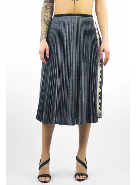Loyd/Ford Lurex Skirt Silver
