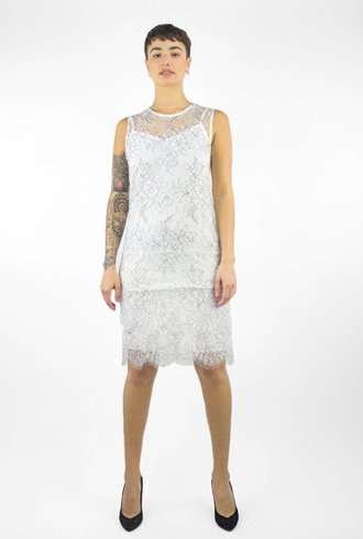 Loyd/Ford Lace Dress White