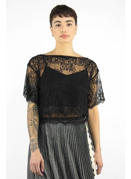 Loyd/Ford Lace Top Black