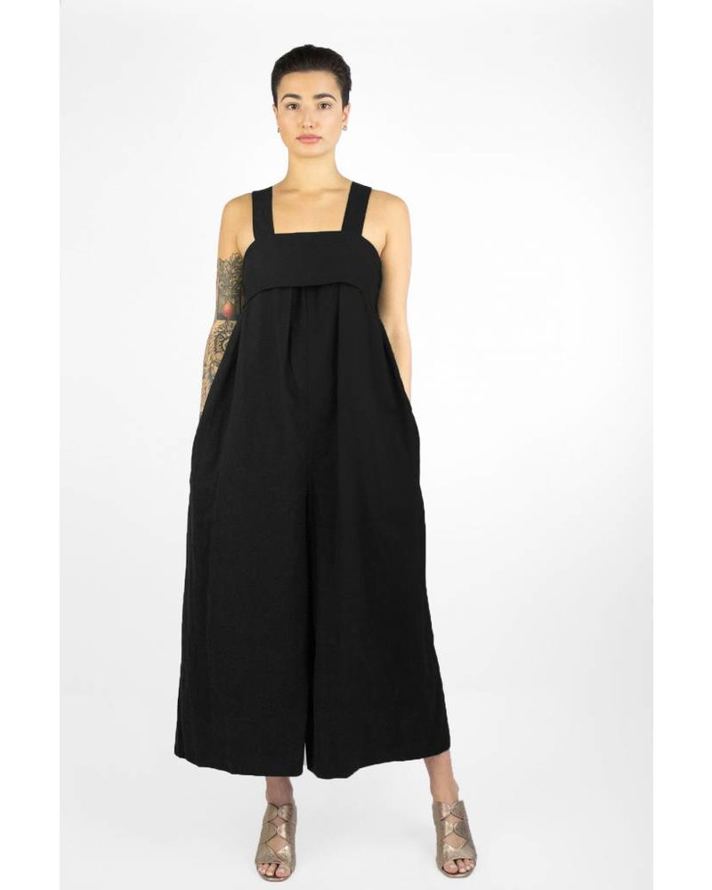 Ulla Johnson Iggy Jumpsuit Jet ...