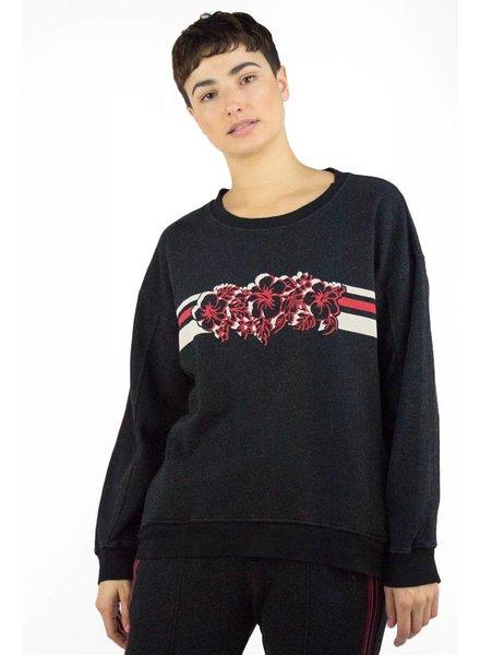 Xirena James Desert Trip Fleece Sweatshirt Black Pepper